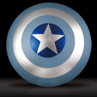Captain America's shield stealth laced