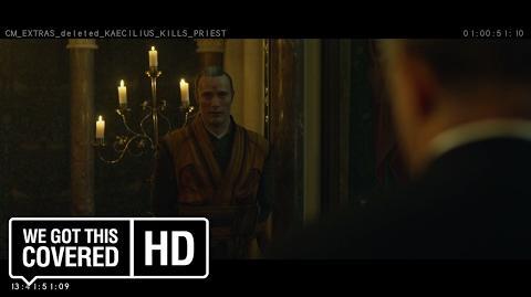 "Doctor Strange ""Kaecilius Kills Priest"" Deleted Scene HD Benedict Cumberbatch, Mads Mikkelsen"