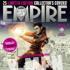 Sunspot on the cover of <i>Empire</i>.
