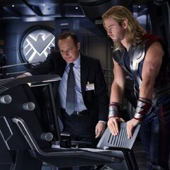 Coulson and Thor.