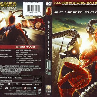 Spider-Man 2.1 dvd cover.