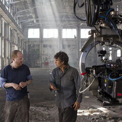 Joss Whedon and Mark Ruffalo.