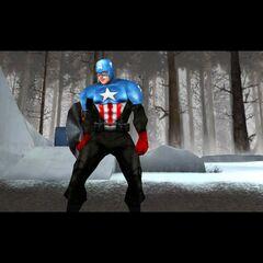 Bucky's Captain America costume as an alternate skin.