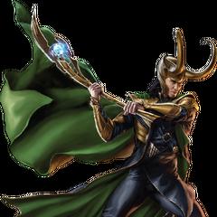 Loki promo art.
