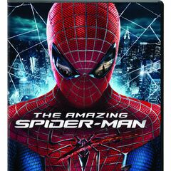 The Amazing Spider-Man<br />UK DVD cover
