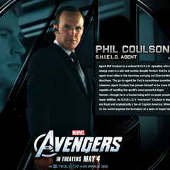 Agent Coulson bio Wallpaper.