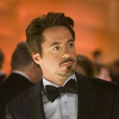 Tony Stark at the Awards Ceremony.