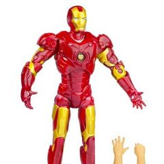 Iron Man, prototype<br />snap-on armor, removable helmet
