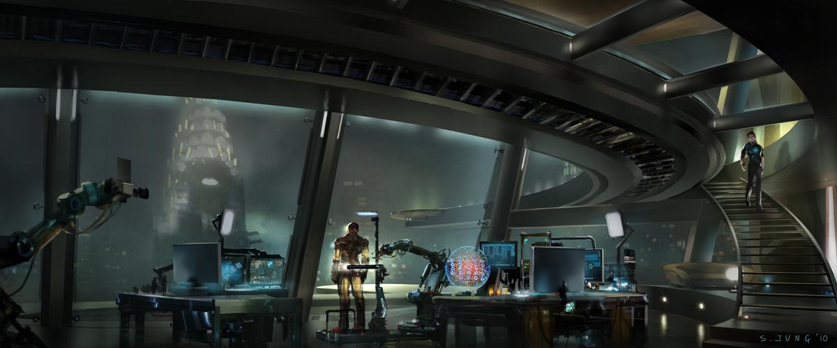 Tony Stark Office Tower Concept Artjpg For Design