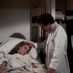 Dr. Strange trying to cure Clea.