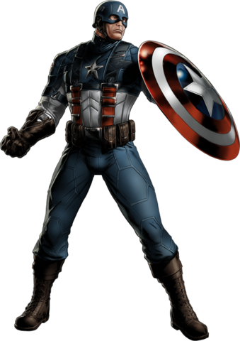 File:WWII Captain America Portrait Art.png