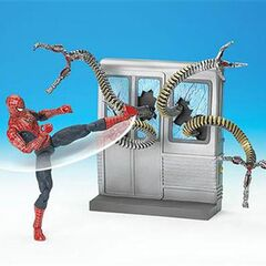 Spin Kick Spider-Man
