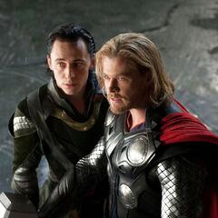 Thor and Loki.