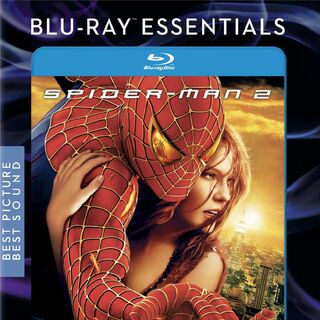 Spider-Man 2 Blu-Ray Essentials Edition.