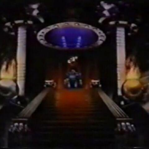 Dr. Doom's throne room in Castle Doom.