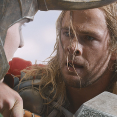 Thor tries to reason with Loki to stop the invasion before it gets worse.