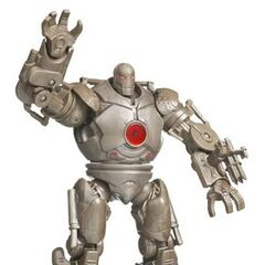Iron Monger<br /> with a squeeze-action fist smash