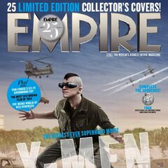 Toad on the cover of <i>Empire</i>.