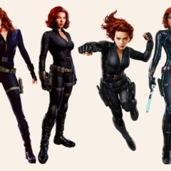 Marvel Cinematic Universe Black Widow promo art