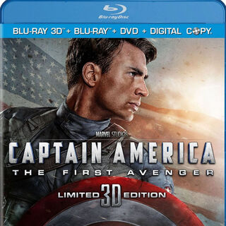 Captain America 3D Limited Edition