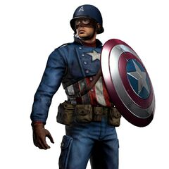 3D Concept Art model for <i>Captain America: Super Soldier</i>, Alternate WWII Costume.