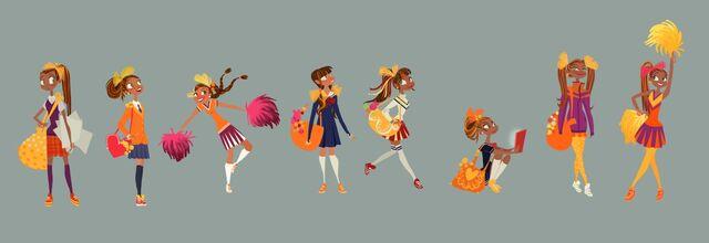 File:Honey Lemon Different Costumes Concept Art.jpg