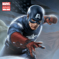 Captain America Avengers prequel comic #1 cover.