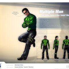 Multiple Man Profile