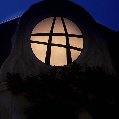Sanctum Sanctorum by night.