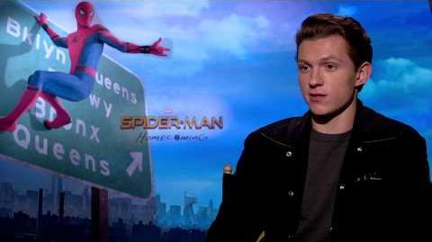 Spider-Man Homecoming Tom Holland Interview