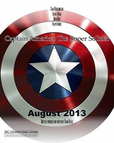 Captain America Super Solider Poster