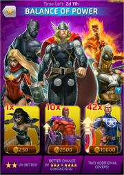Balance of Power Comic (Anniversary) Offer