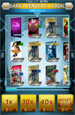 Heroic Mode-Dark Avengers (6) Offer