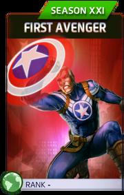 First Avenger (Season XXI)