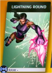 Psylocke Lightning Round