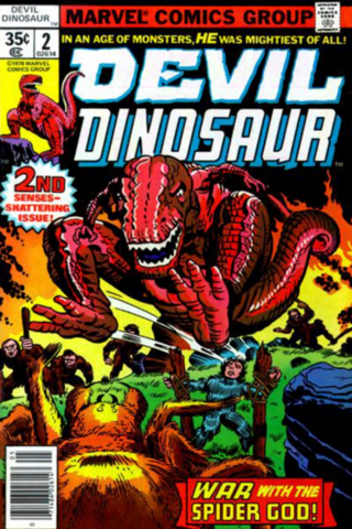 File:Devil Dinosaur (Gigantic Reptile) old.png