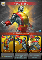 Real Steel Comic (Season VII) Offer