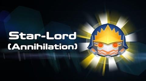 Star-Lord (Annihilation) Skills Intro - MARVEL Tsum Tsum