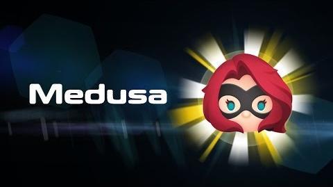 Medusa Skills Intro MARVEL Tsum Tsum