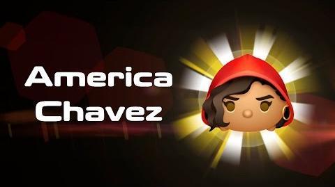 America Chavez Skills Intro - MARVEL Tsum Tsum