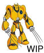 Mecha wolverine wip by 3as3oos-d35h6wh
