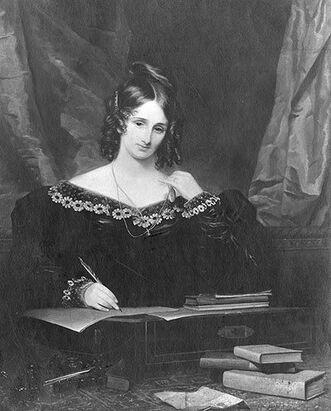Author Mary Wollstonecraft Shelley