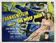 Lc frankenstein meets the wolf man tc