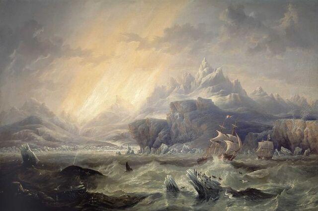 File:Hmserebus-terror-antarctic-john-wilson-carmichael.jpg