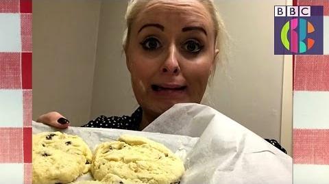 Katie's Bake Off Fail! Junior Bake Off CBBC