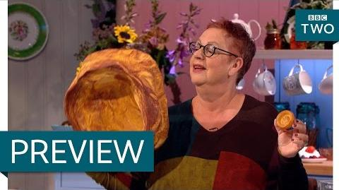 Selasi's massive yorkshire pudding - The Great British Bake Off An Extra Slice - BBC Two