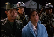 Lt. Park and North Korean spy woman