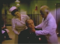 Nurse Coleman Dr. Potter sick policeman