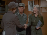 Ep 7x3 - Col. Potter introdues Col. Rayburn to Margaret