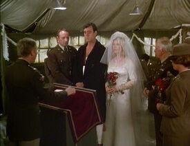 MASH episdoe 5x24 - Margaret's Marriage - The wedding of Margaret and Donald Penobscot